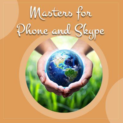 MastersPhoneSkype-world